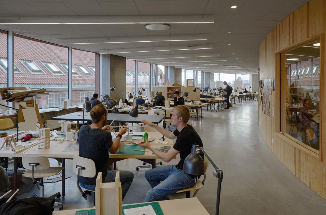 Arkitekturskolan, Tham & Videgård