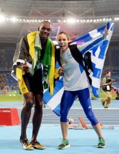 Katerina Stefanidi-Usain Bolt1_n