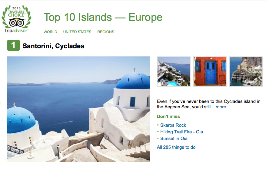 Top 10 islands_Europe_Santorini